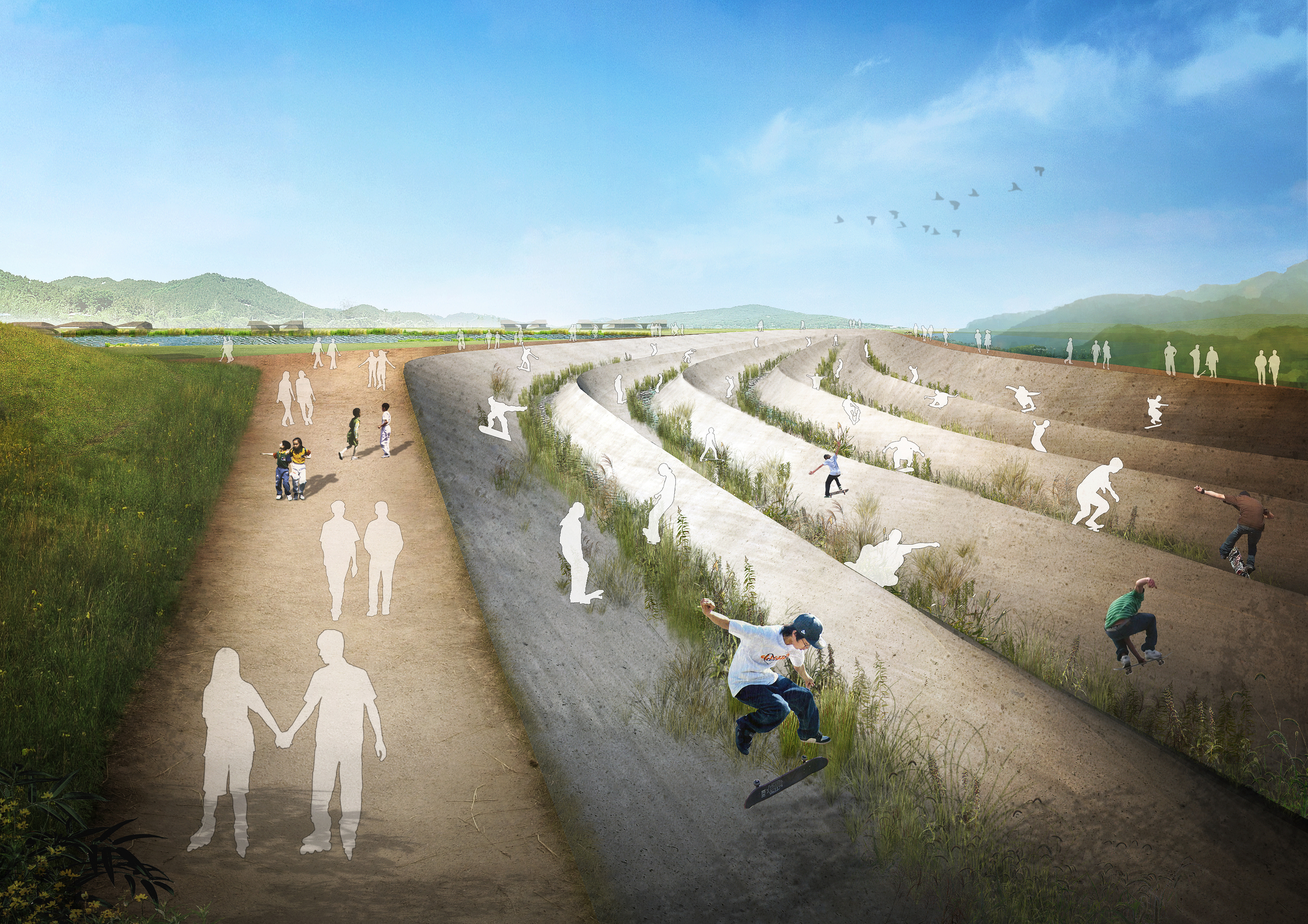 BA_Two Lakes Park_Gwanggyo Trail_render1.jpg