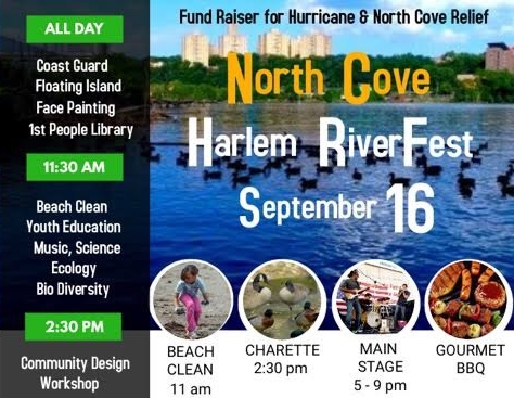 - Balmori Associates will be represented at North Cove Harlem RiverFest, showcasing our work and vision of floating islands. Come join us!Attend the event and read more