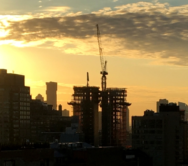 - Soho Tower construction rises in the New York skyline.Read more about the project