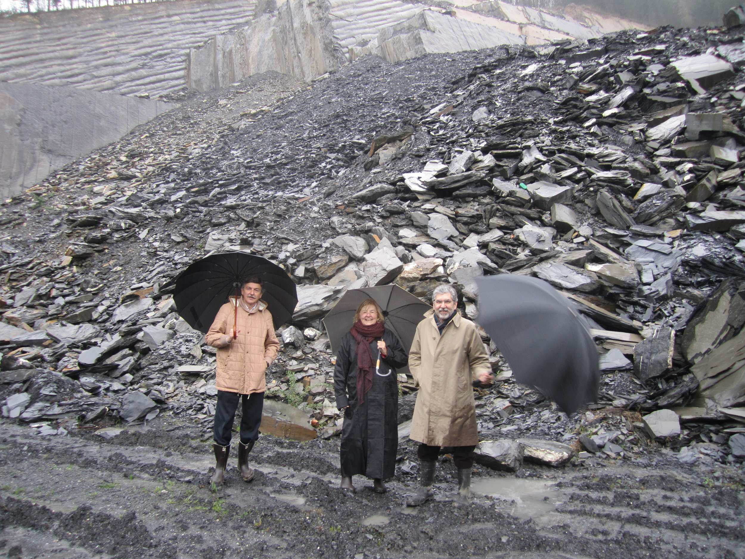 - Selecting stones at the quarry on a rainy day in 2011 for our project in Bilbao, Spain.Read more about Campa de los Ingleses