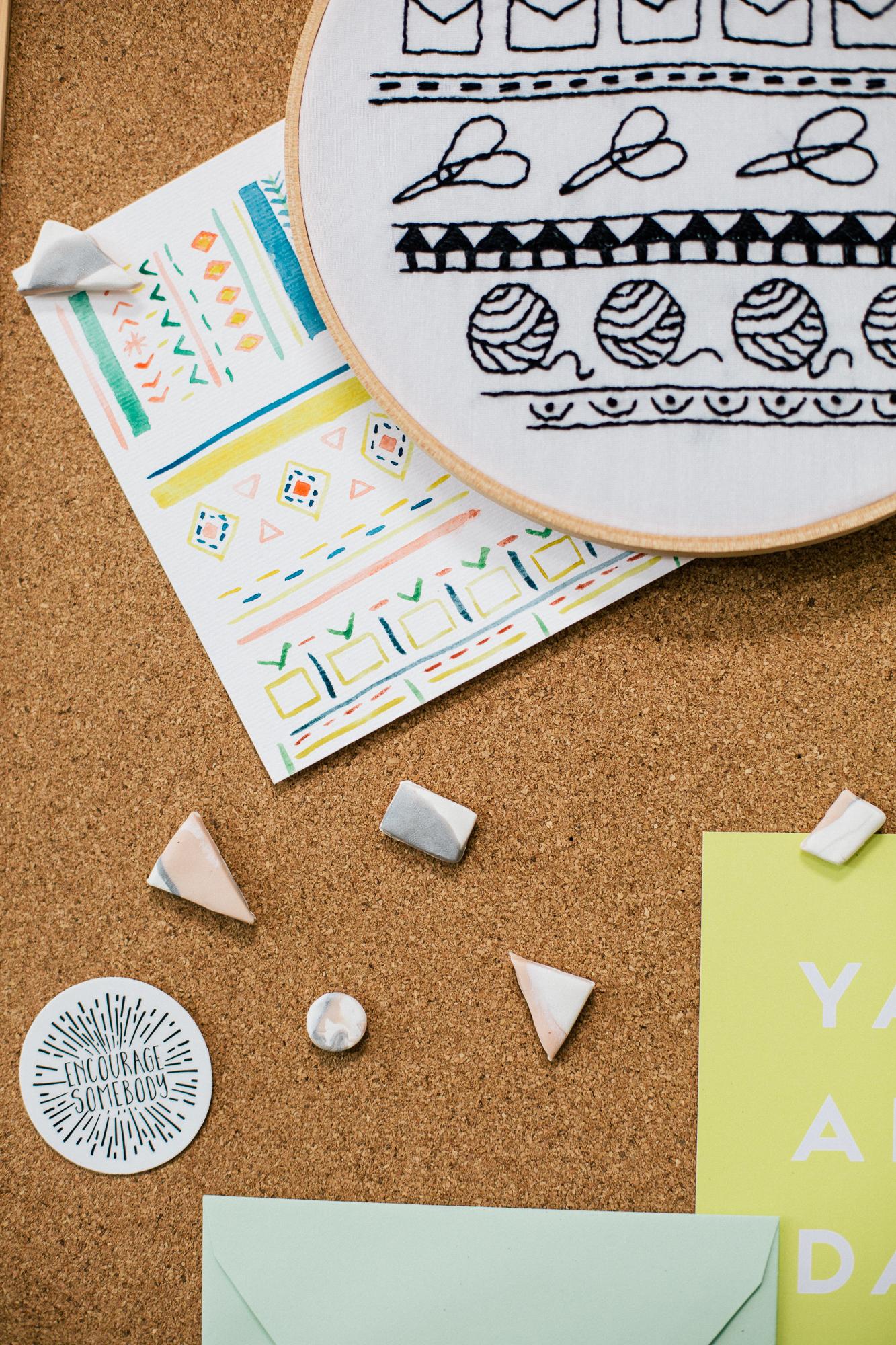Paper Craft Pantry DIY Thumb Tacks