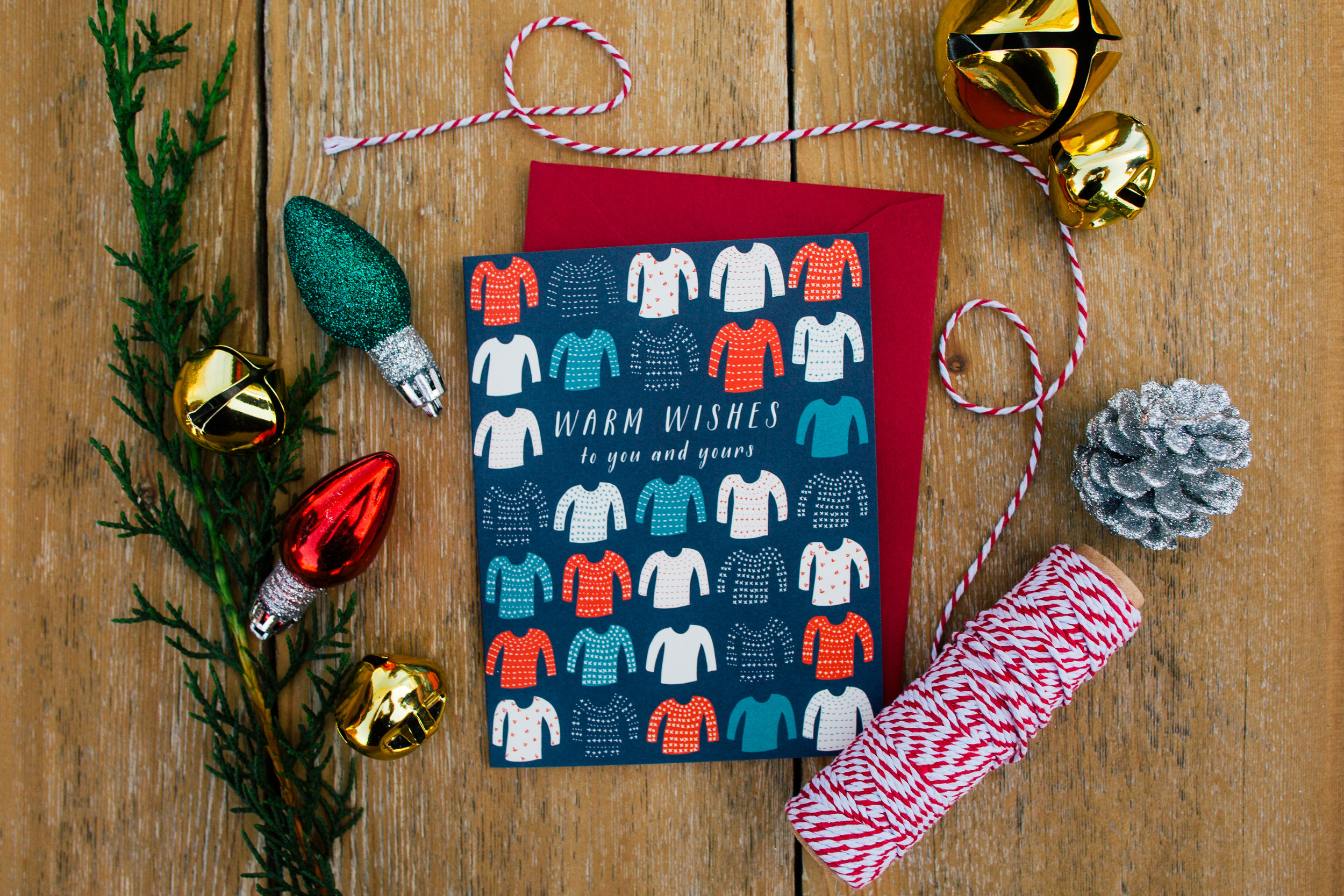 Warm Holiday Christmas Wishes Snail Mail