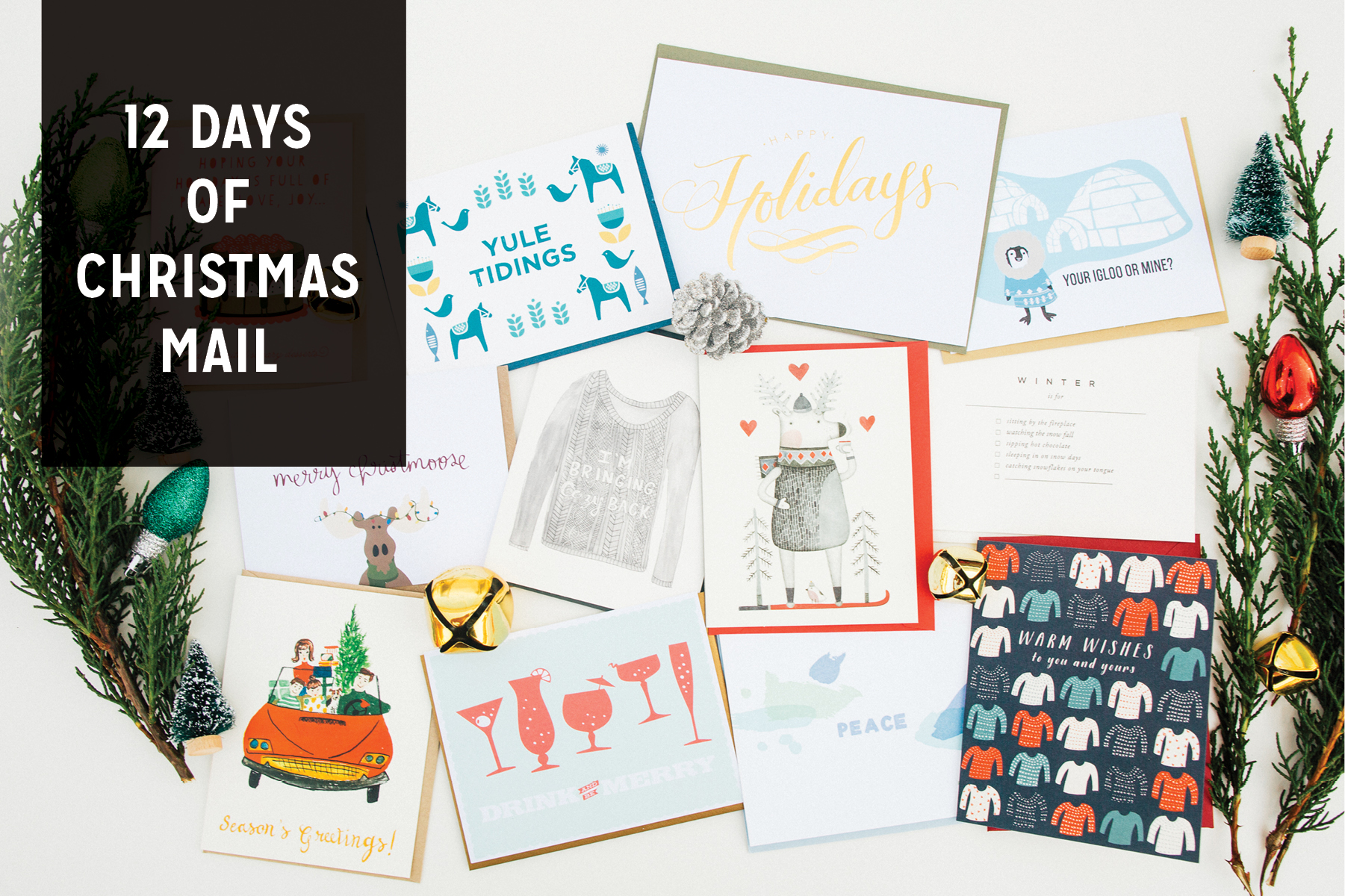 Holiday Greeting Cards at The Paper Craft Pantry, Austin, Texas