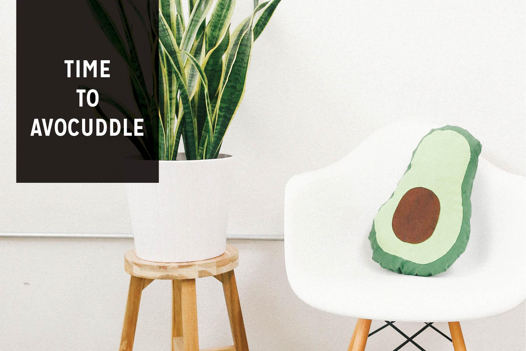 Paper Craft Pantry Blog DIY No Sew Avocado Pillow