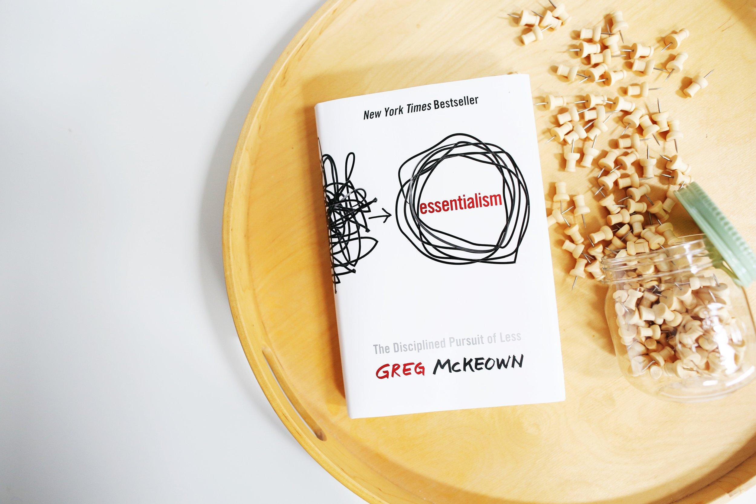 Paper Craft Pantry ATX Monthly Book Club Essentialism Greg McKeown