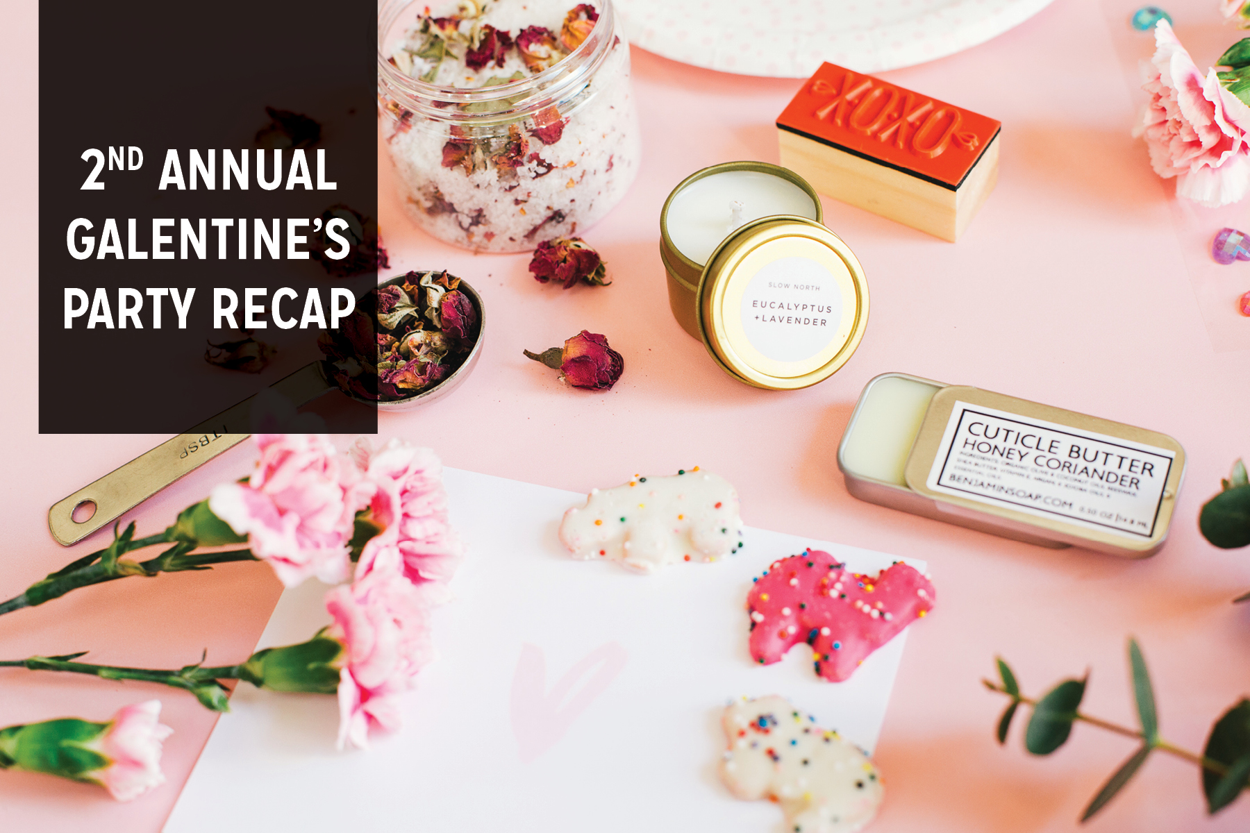 Paper Craft Pantry Blog Girls Valentine's Day Party