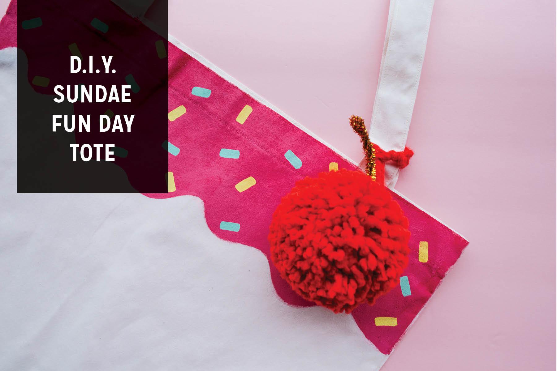 Paper Craft Pantry Blog DIY Cupcake Tote Bag