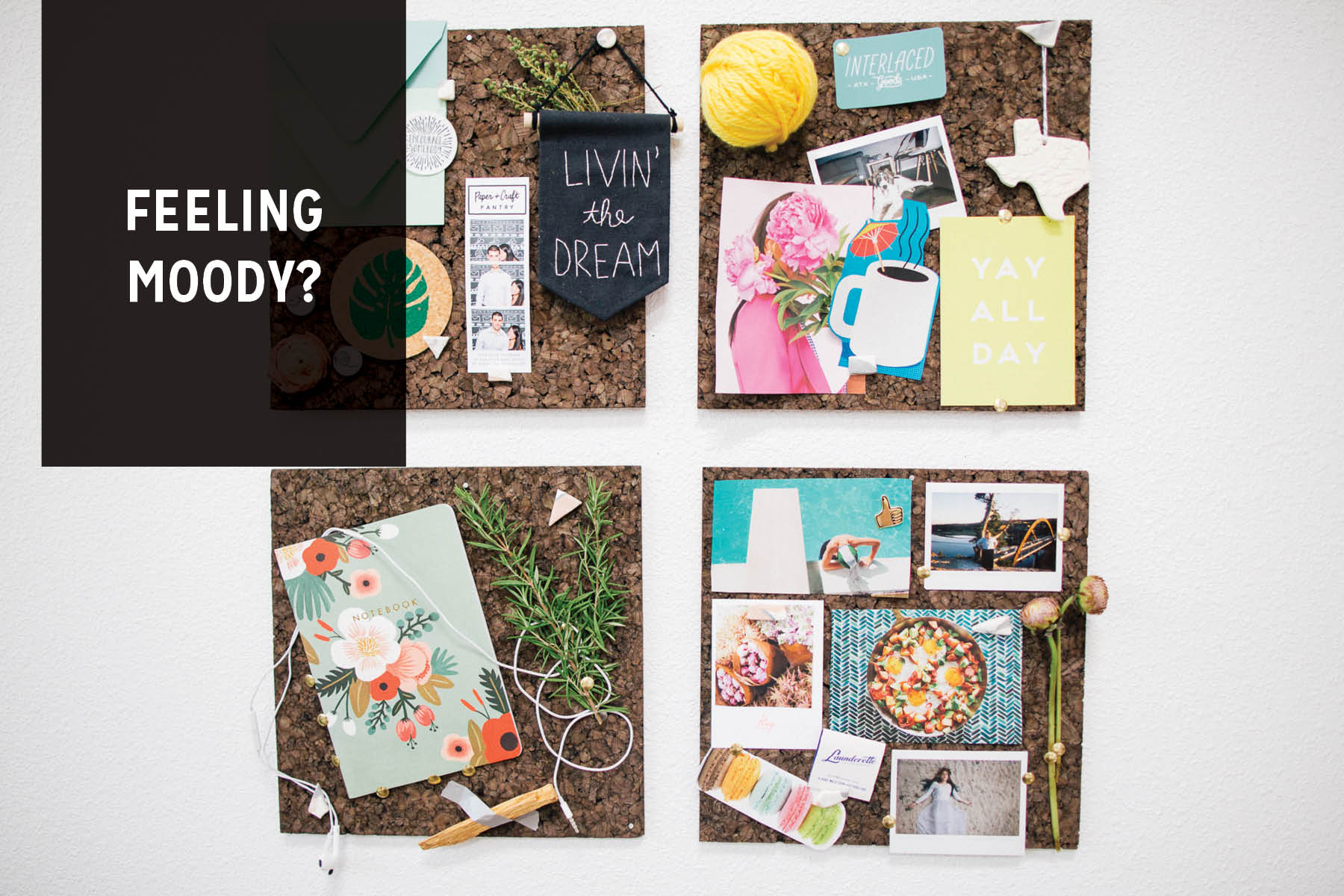 Paper Craft Pantry Inspiration Mood Boards