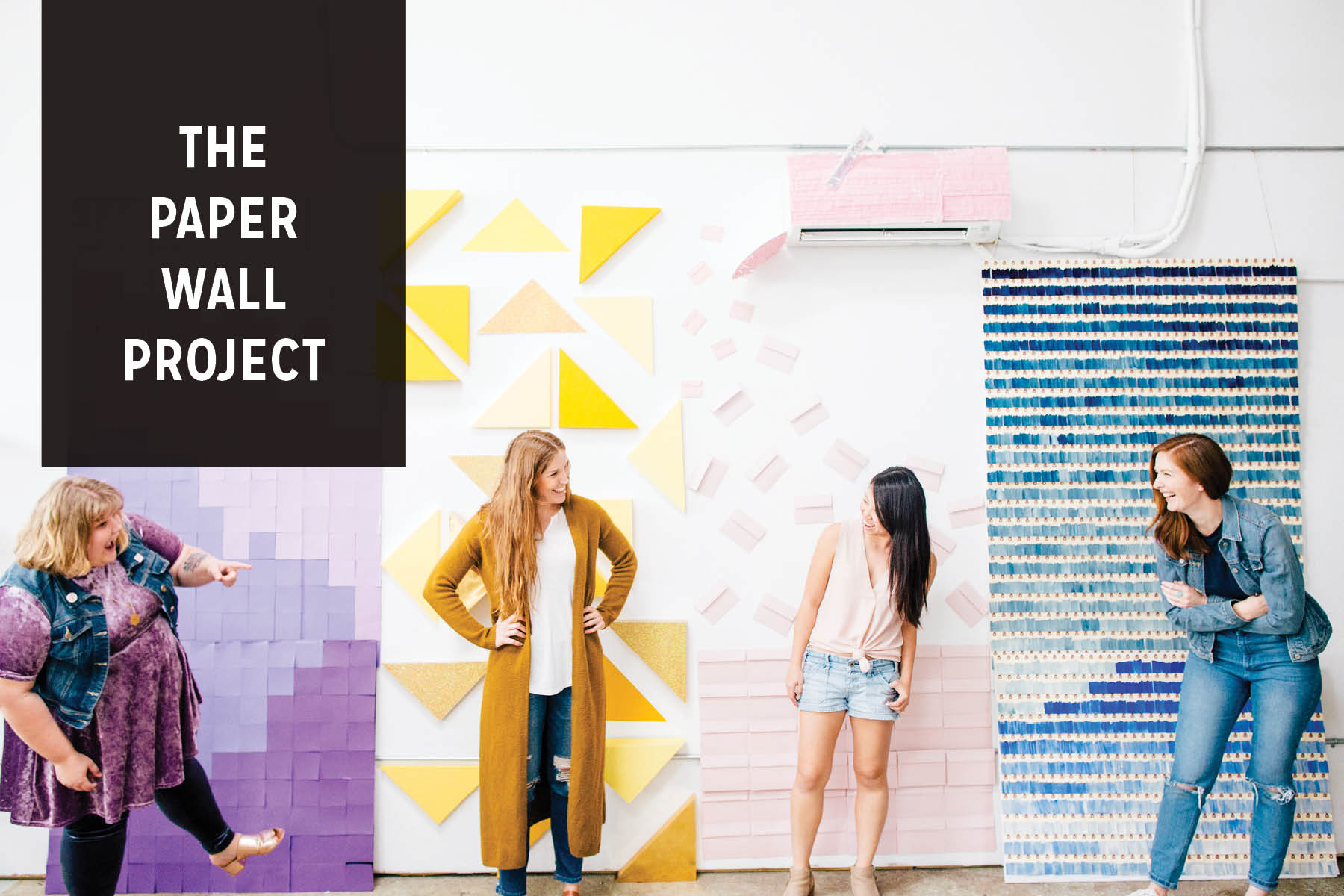 Paper Craft Pantry Blog Paper Wall Project Recap Austin Texas