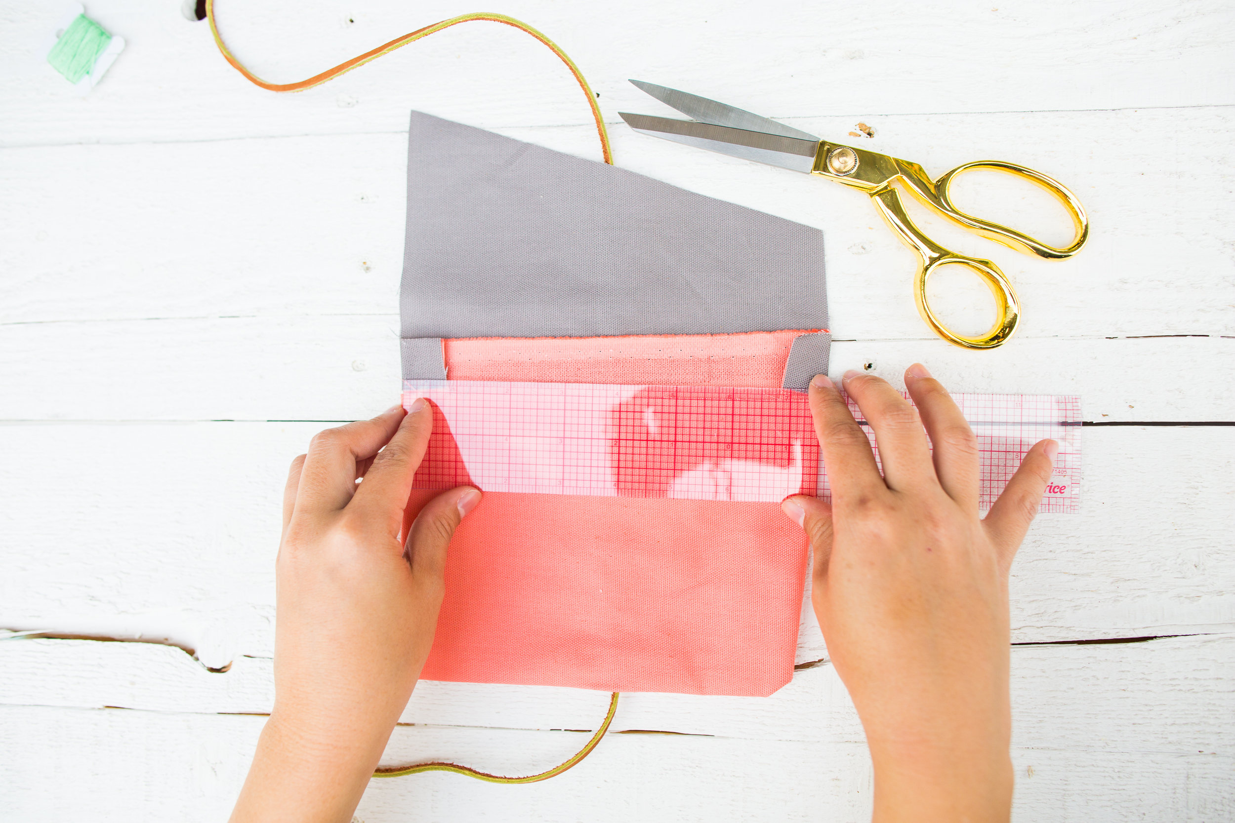 Paper Craft Pantry Austin Blog Fold Over Pencil Pouch DIY