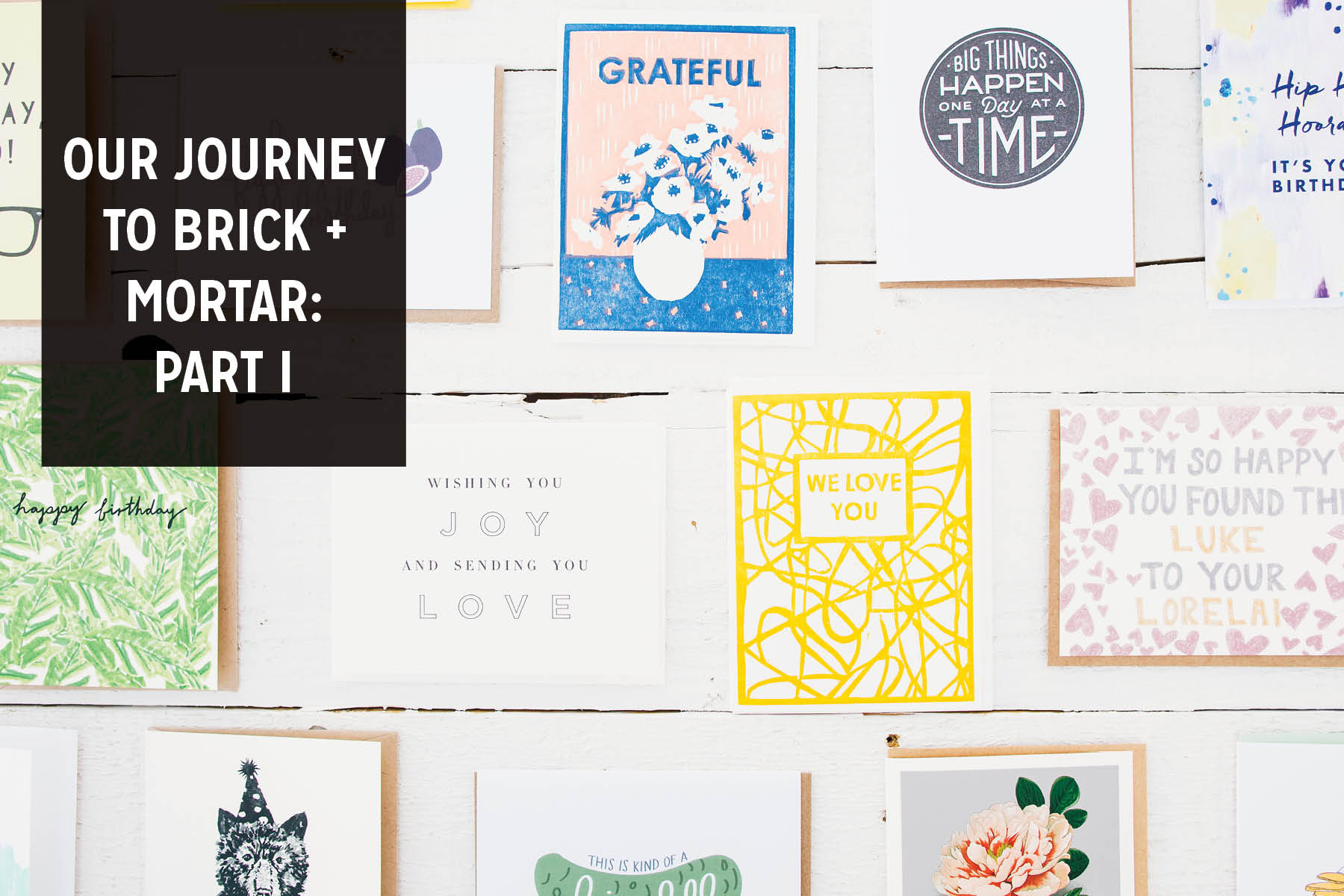 Paper Craft Pantry Austin Blog Small Business Brick and Mortar