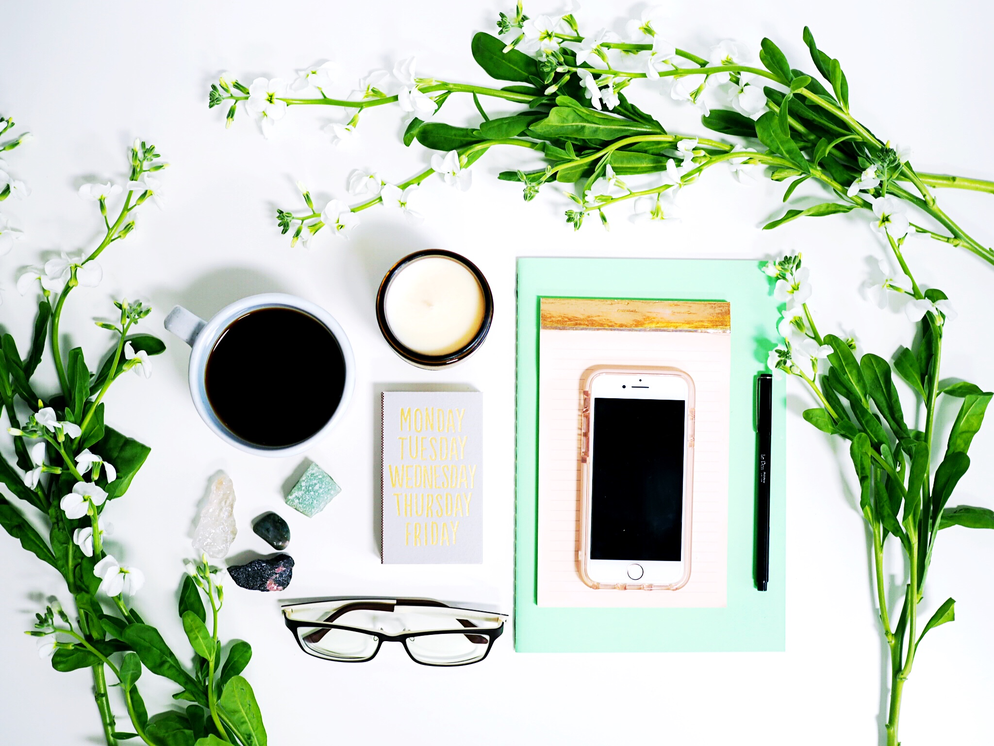 The Paper + Craft Pantry Tips on Taking the Perfect Flat Lay Photo