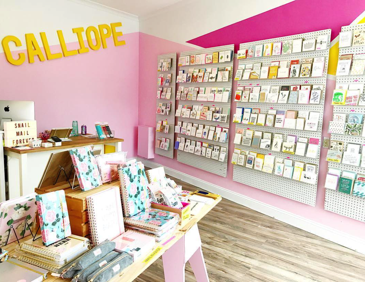 The Paper + Craft Pantry's favorite North East paper shop