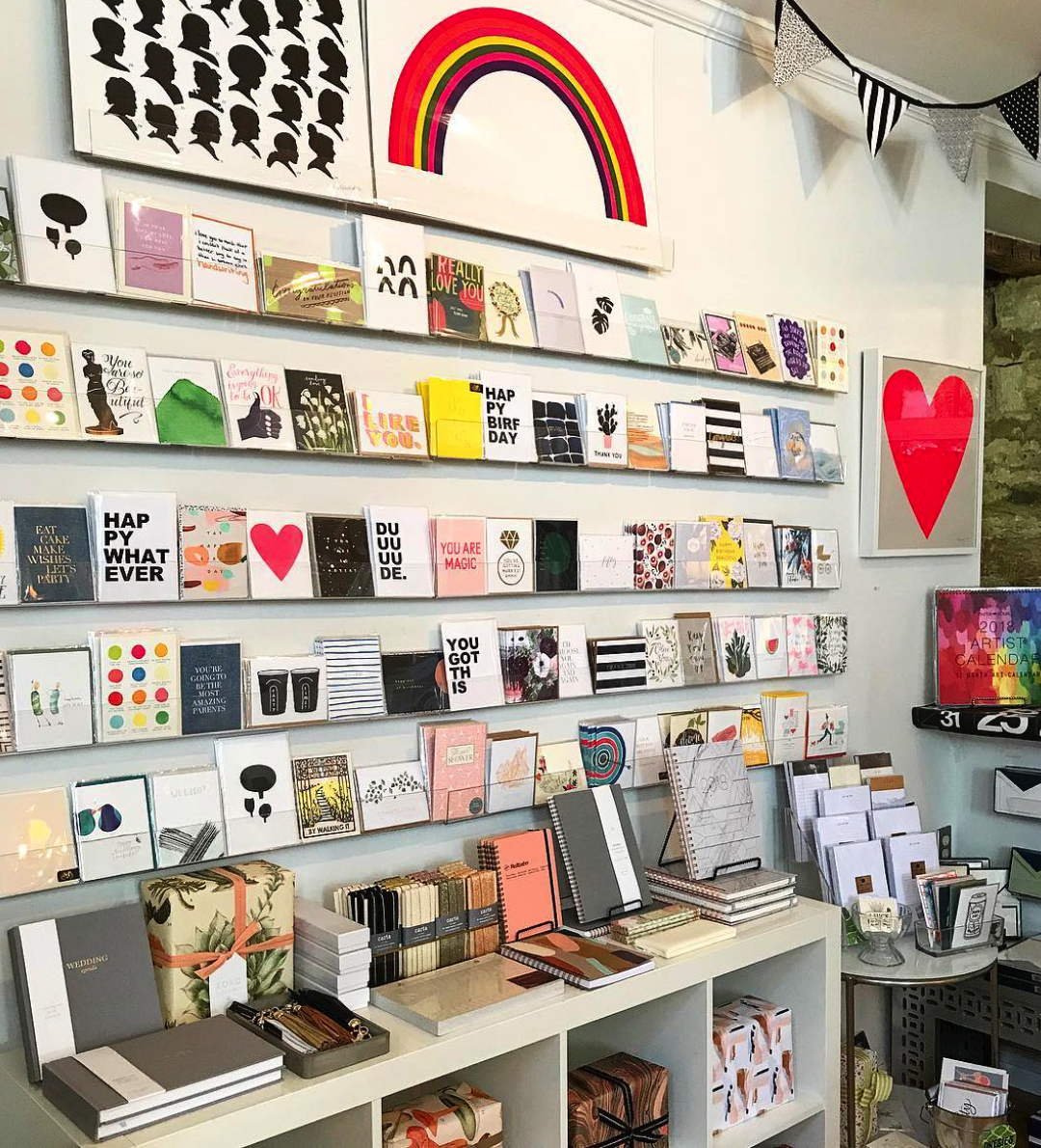 The Paper + Craft Pantry's favorite and best stationery spots.