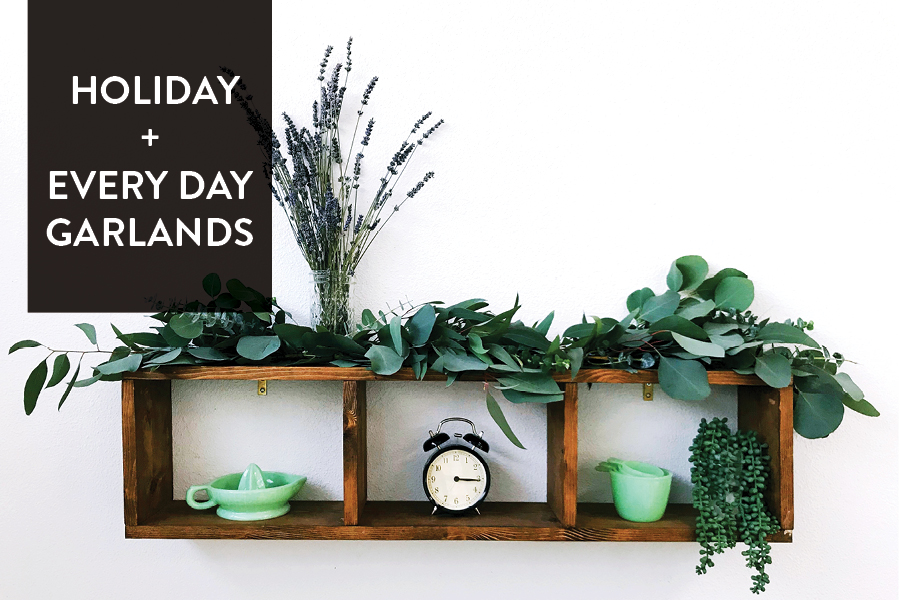 The Paper + Craft Pantry Do-It-Yourself Blog: Holiday + Every Day Garlands