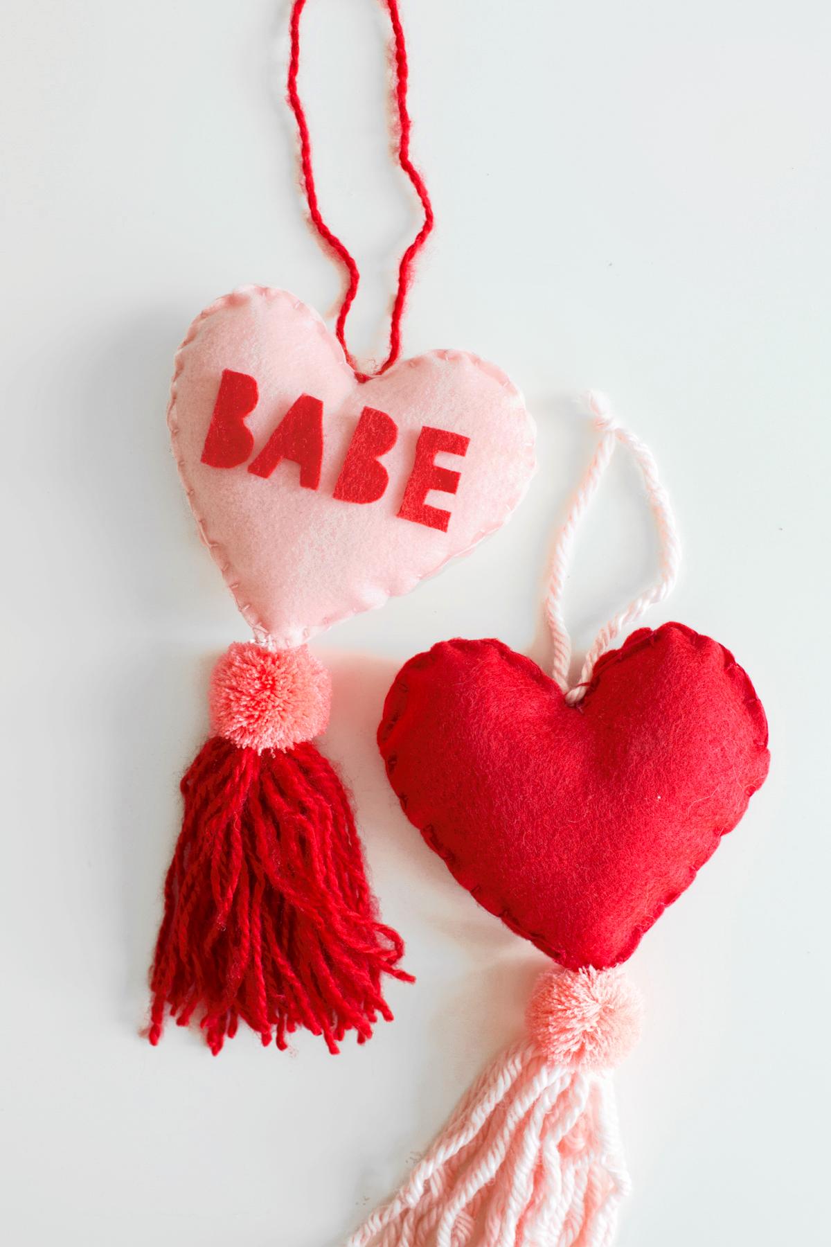 Paper Craft Pantry Blog: 2018 Valentine's D.I.Y Round Up Babe Heart Tassel
