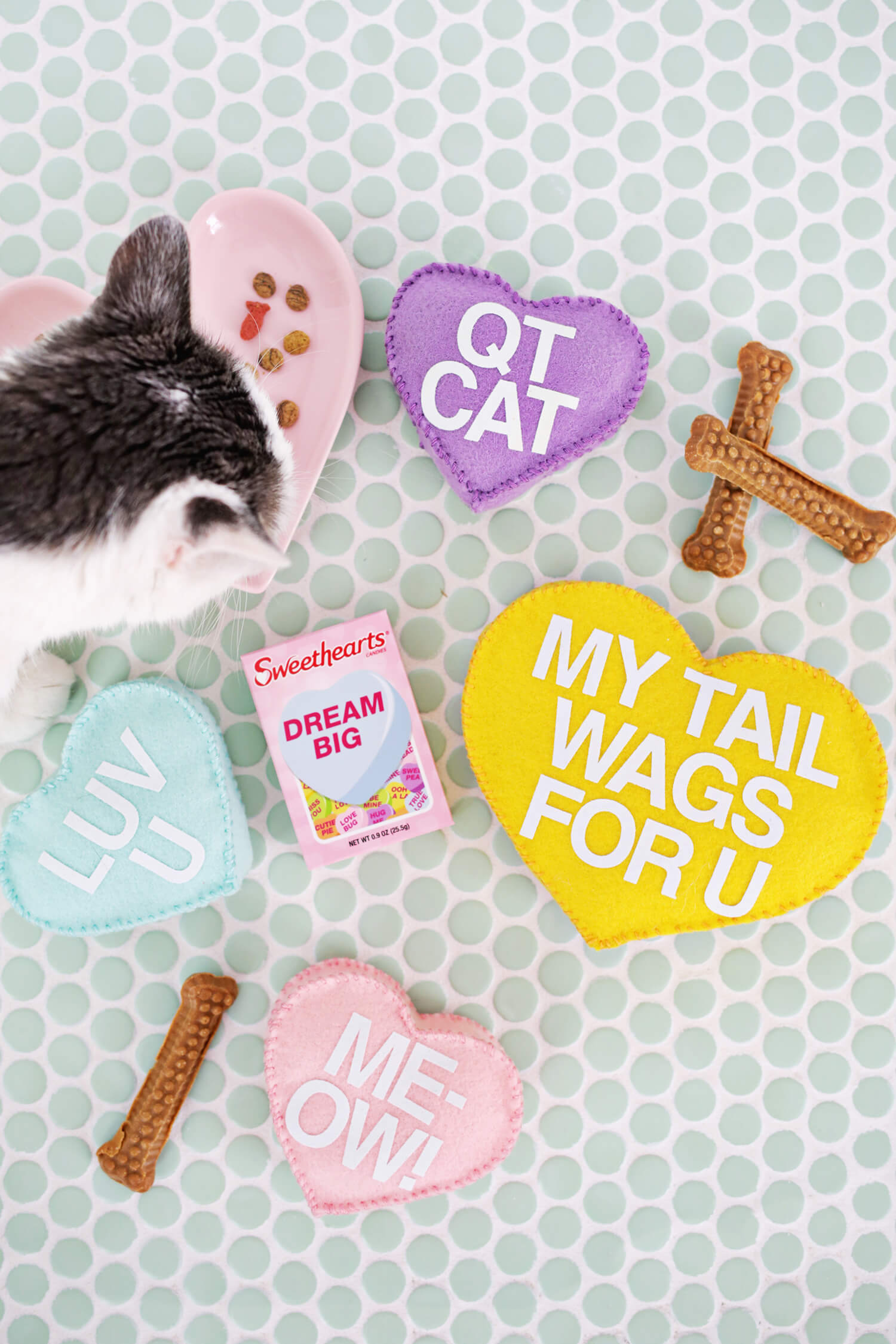 Paper Craft Pantry Blog: 2018 Valentine's D.I.Y Round Up Pet Treat Gifts