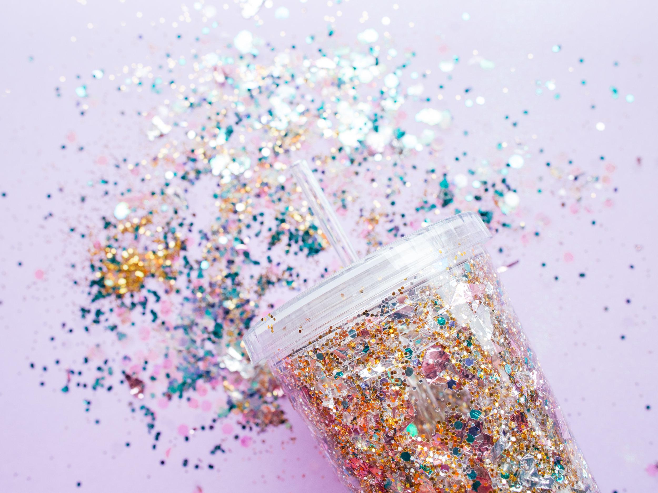 Paper Craft Pantry Blog: Galentine's Glitter Tumbler D.I.Y.