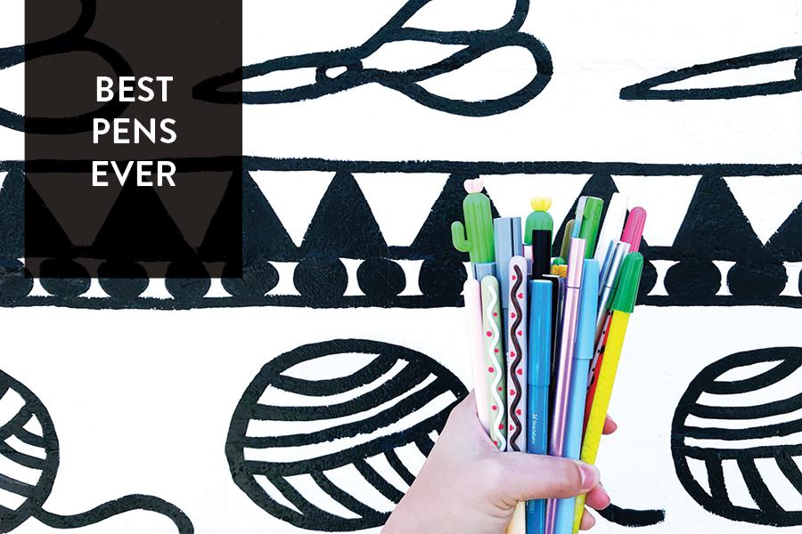 Paper Craft Pantry Blog Favorite Pens Round Up