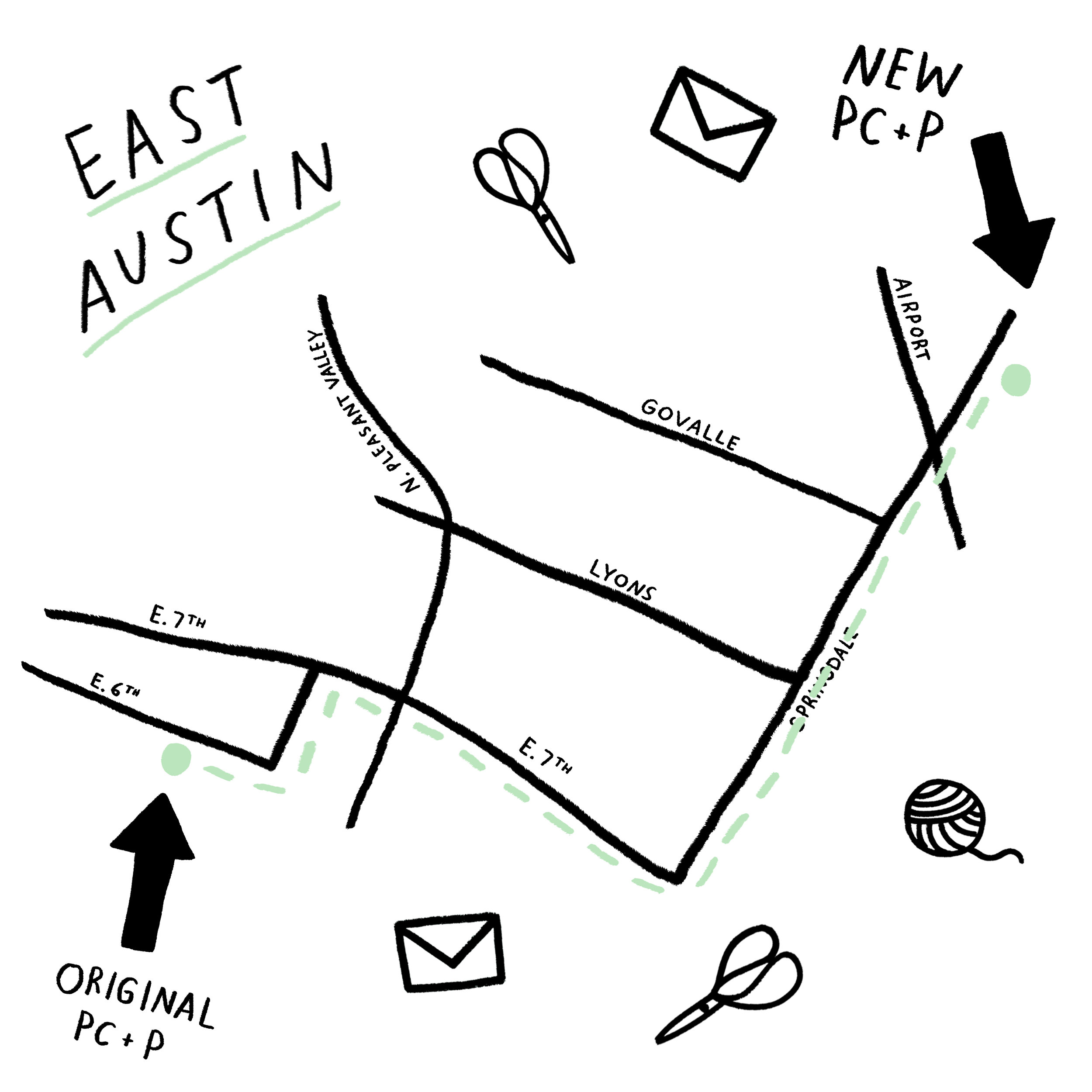 The Paper + Craft Pantry in East Austin.