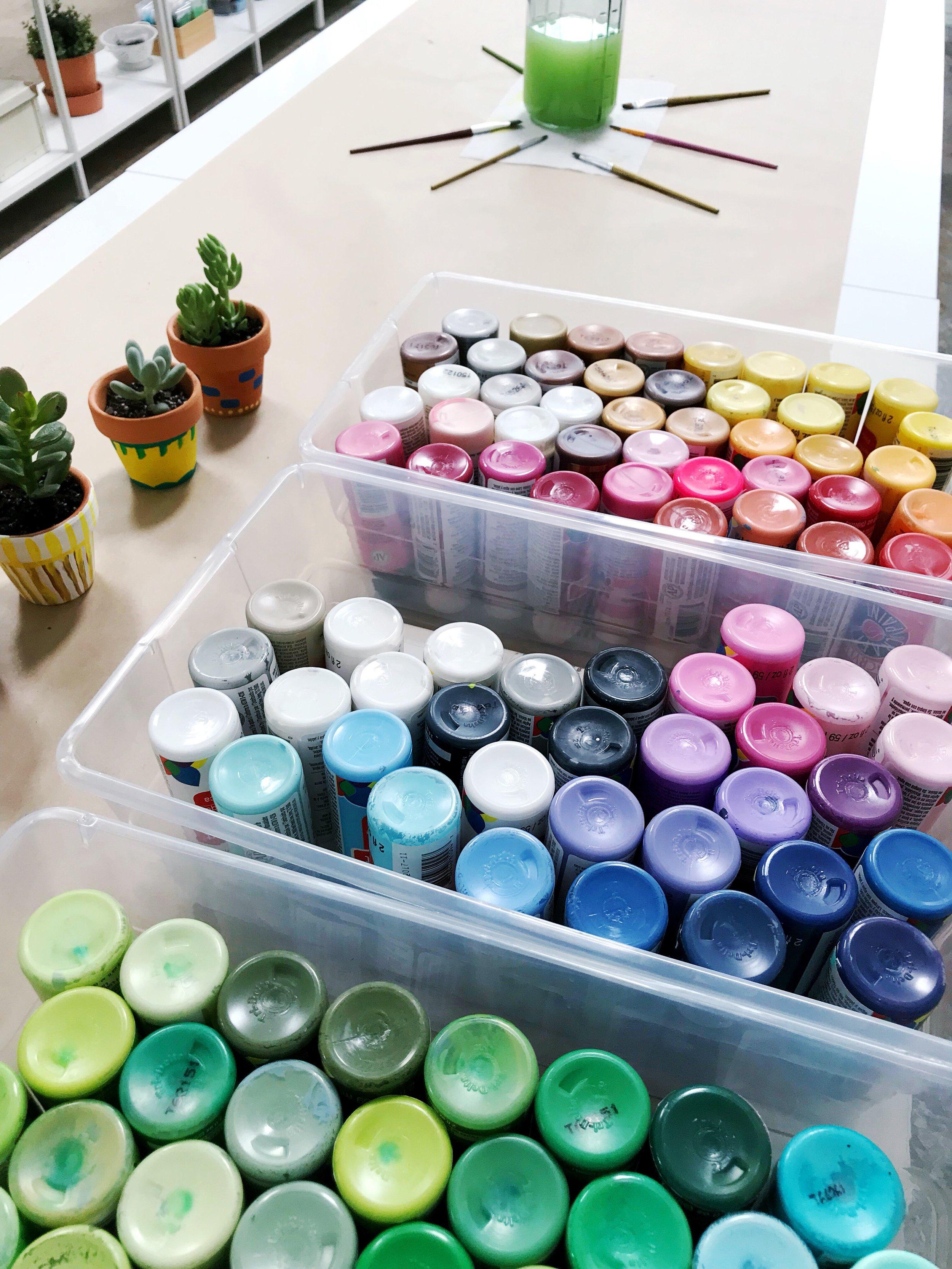 The Paper + Craft Pantry D.I.Y. Succulent Pots