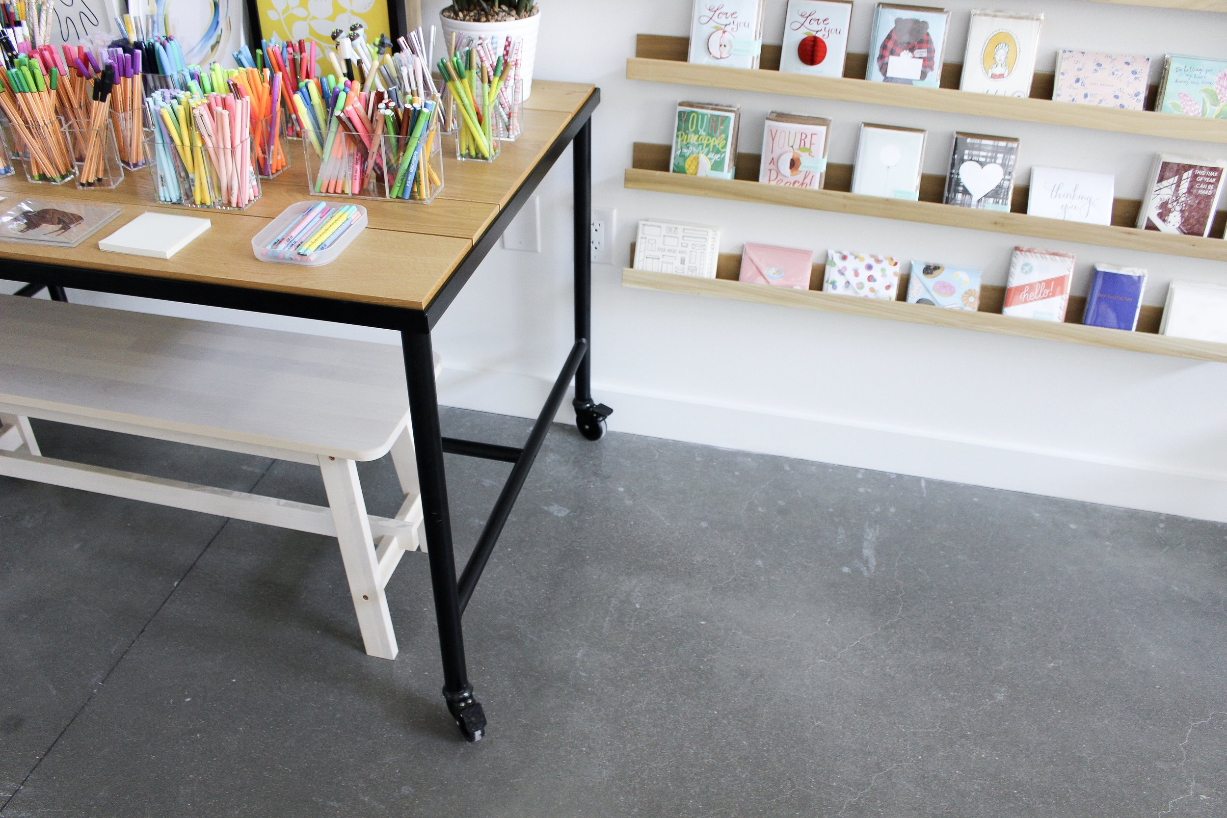 Paper + Craft Pantry Blog: A peek at some of our cards and pens.