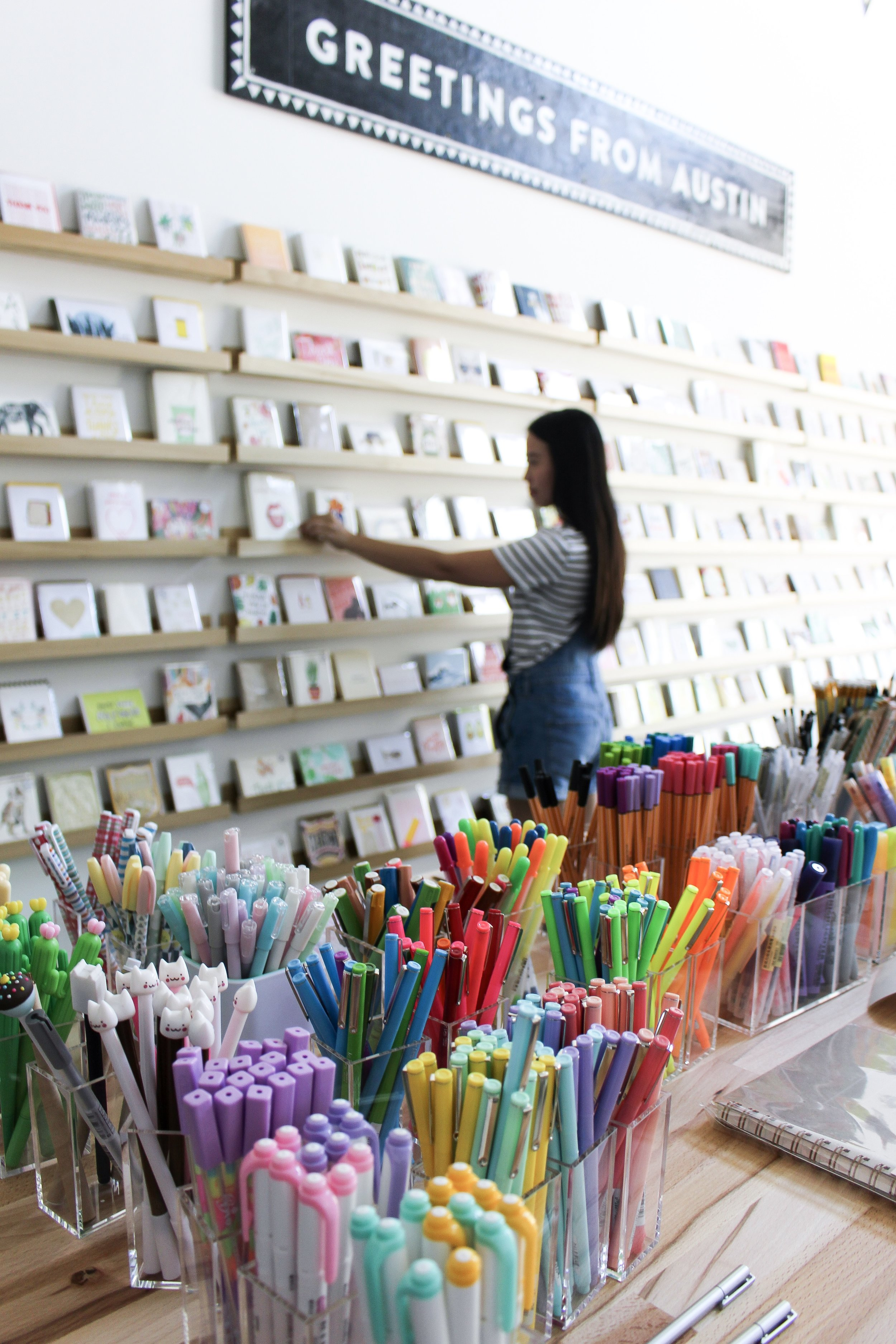 The Paper + Craft Pantry small business blog on how we choose to wholesale.