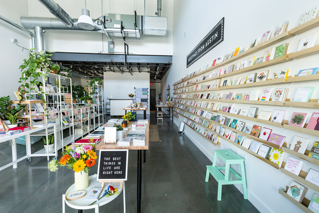 The Paper + Craft Pantry: New location at Springdale General.