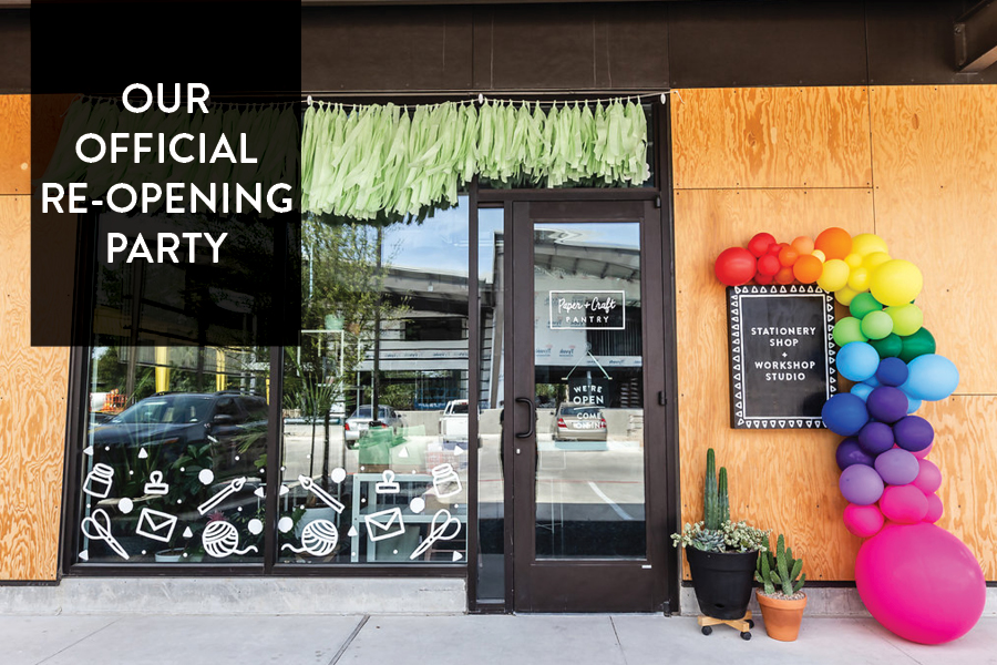 The Paper + Craft Pantry: Austin's Favorite Stationery Shop + Workshop Studio