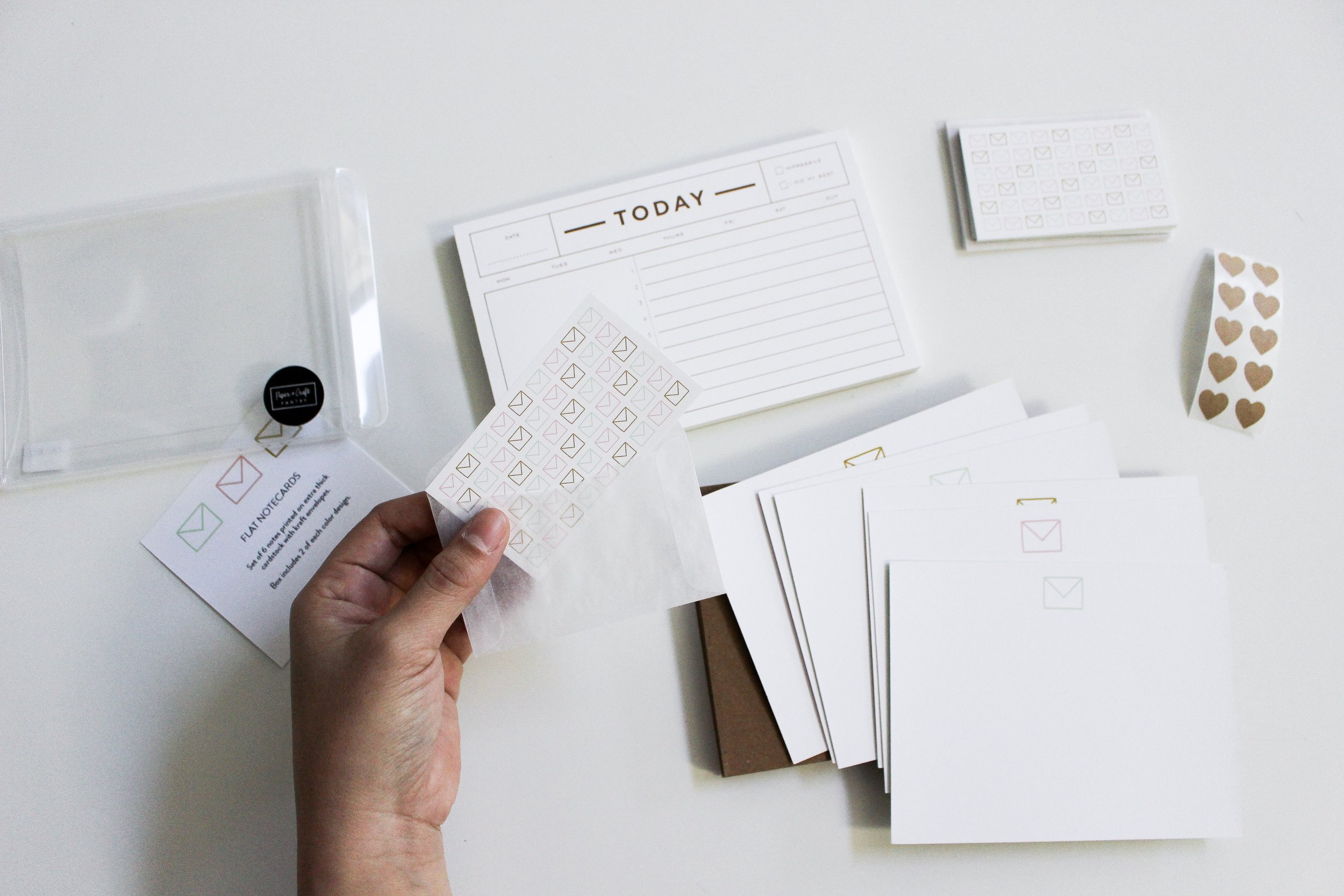 The Paper + Craft Pantry Blog: The best notecards and correspondence for a personal and intentional year.