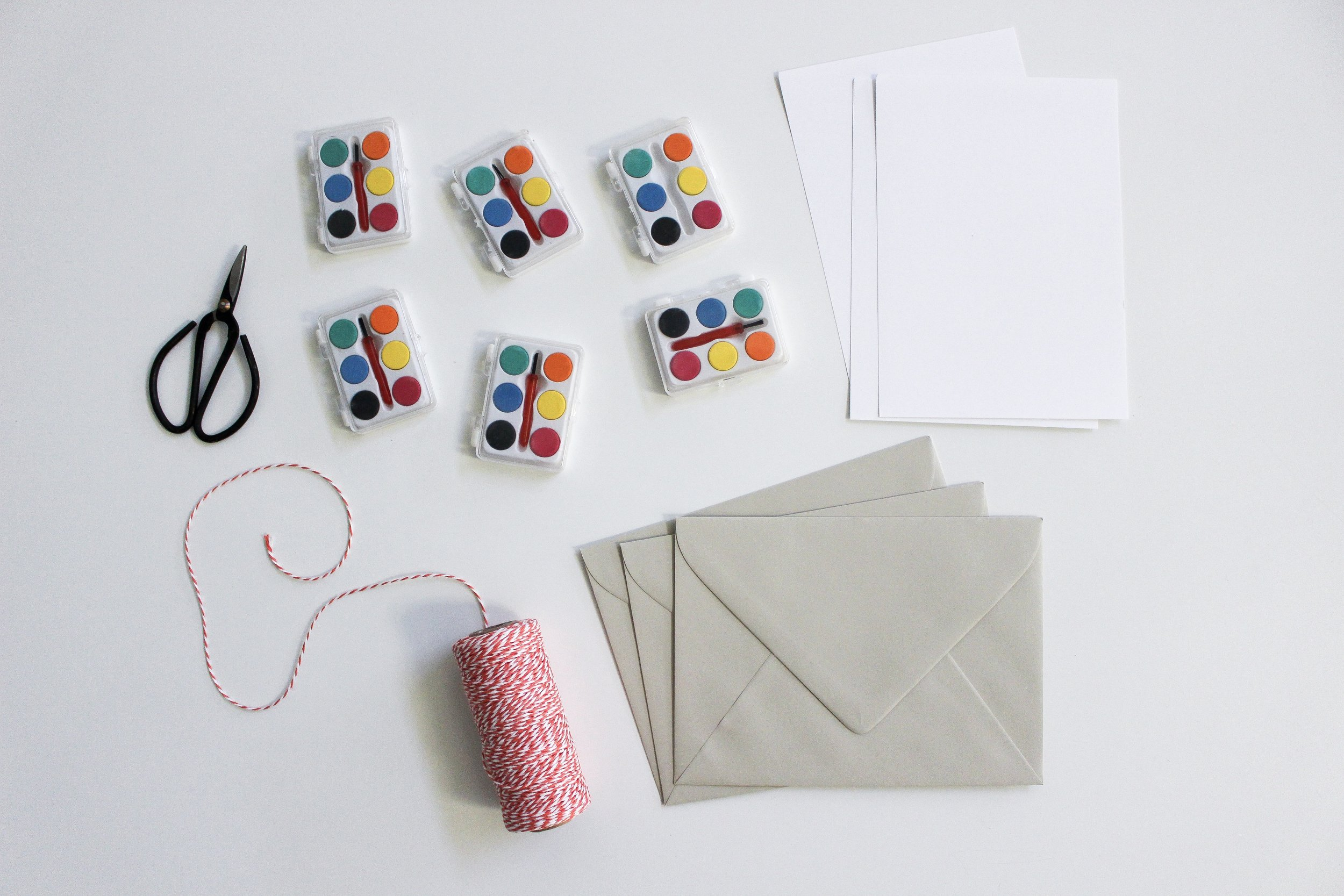 The Paper + Craft Pantry Blog: All of our supplies for making a secret message valentine!