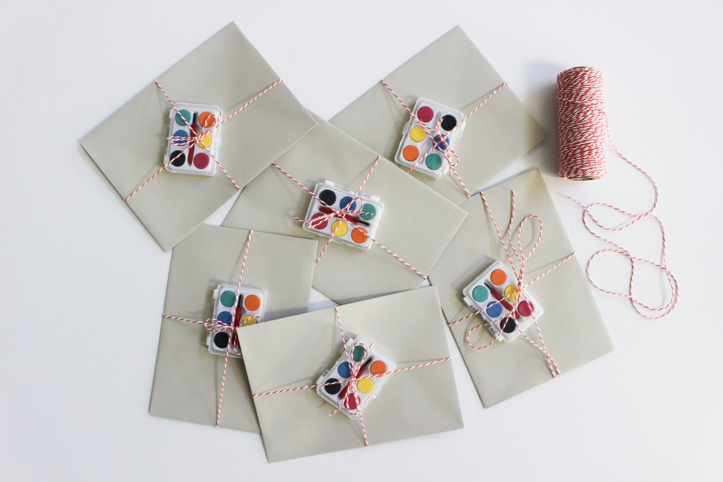 The Paper + Craft Pantry Blog: ALL of our finished Valentine hidden message cards.