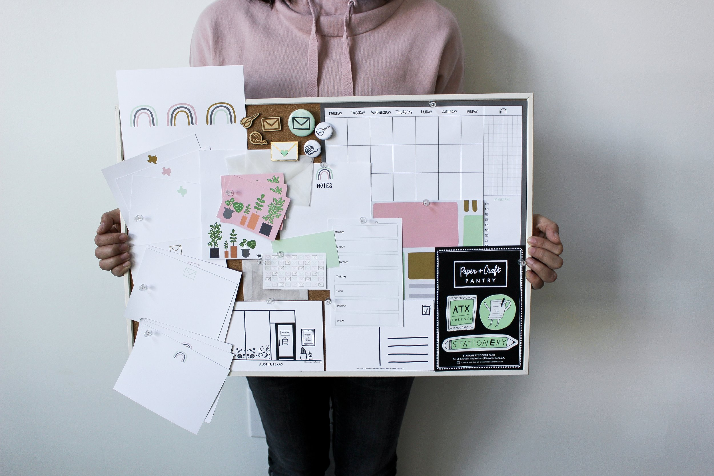 The Paper + Craft Pantry Blog: Product inspiration board.