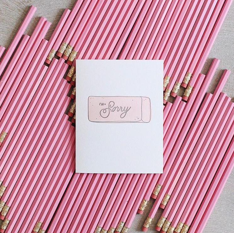 The Paper + Craft Pantry Blog: Just one of Meg's beautiful letterpressed cards.