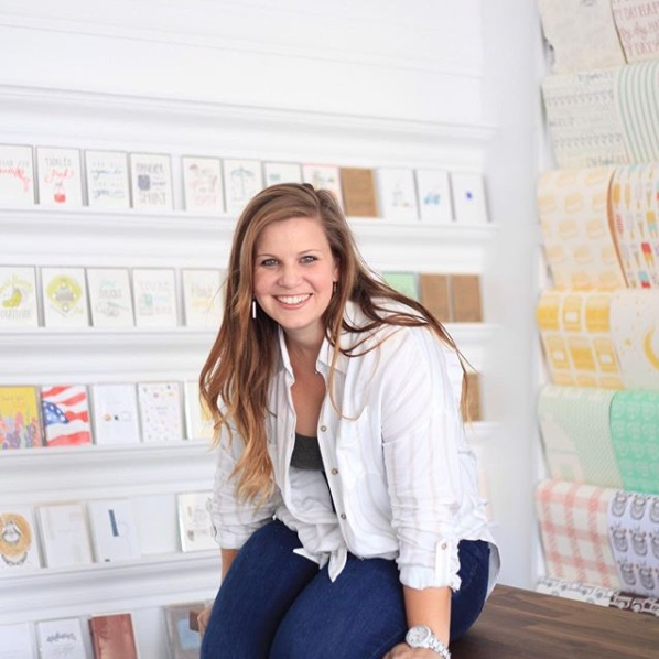 The Paper + Craft Pantry Blog: Belle & Union creator and owner Meg!