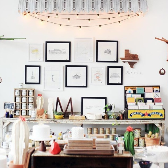 The Paper + Craft Pantry Blog: Just a corner of the GORGEOUS Belle & Union's shop!