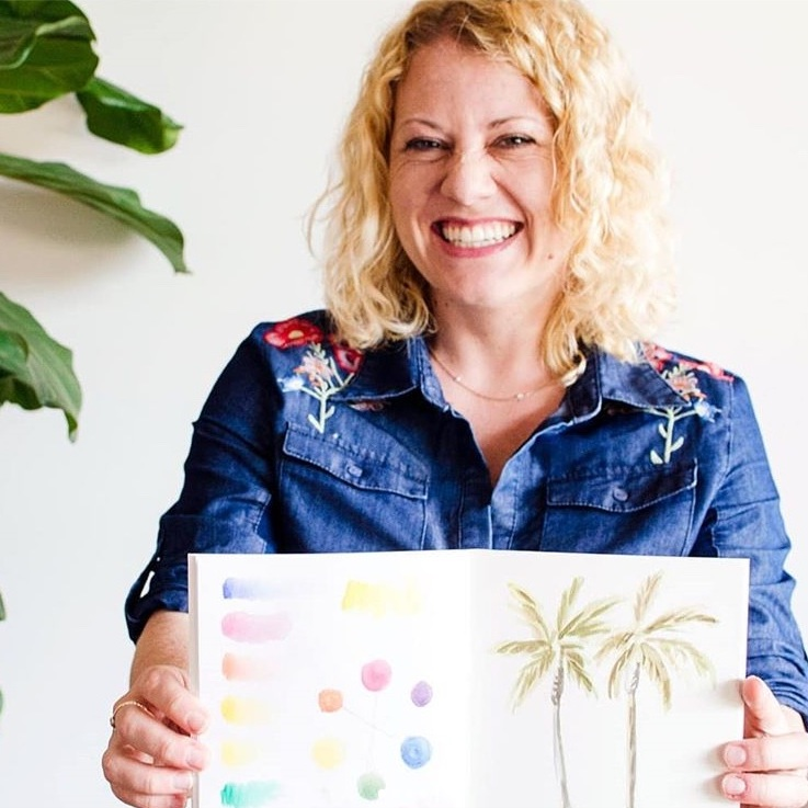 The Paper + Craft Pantry Blog: Chelsea Ward from Sketchy Notions