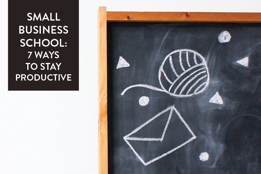 Paper + Craft Pantry 2019 Small Business Blog: 7 ways to stay and be productive this year