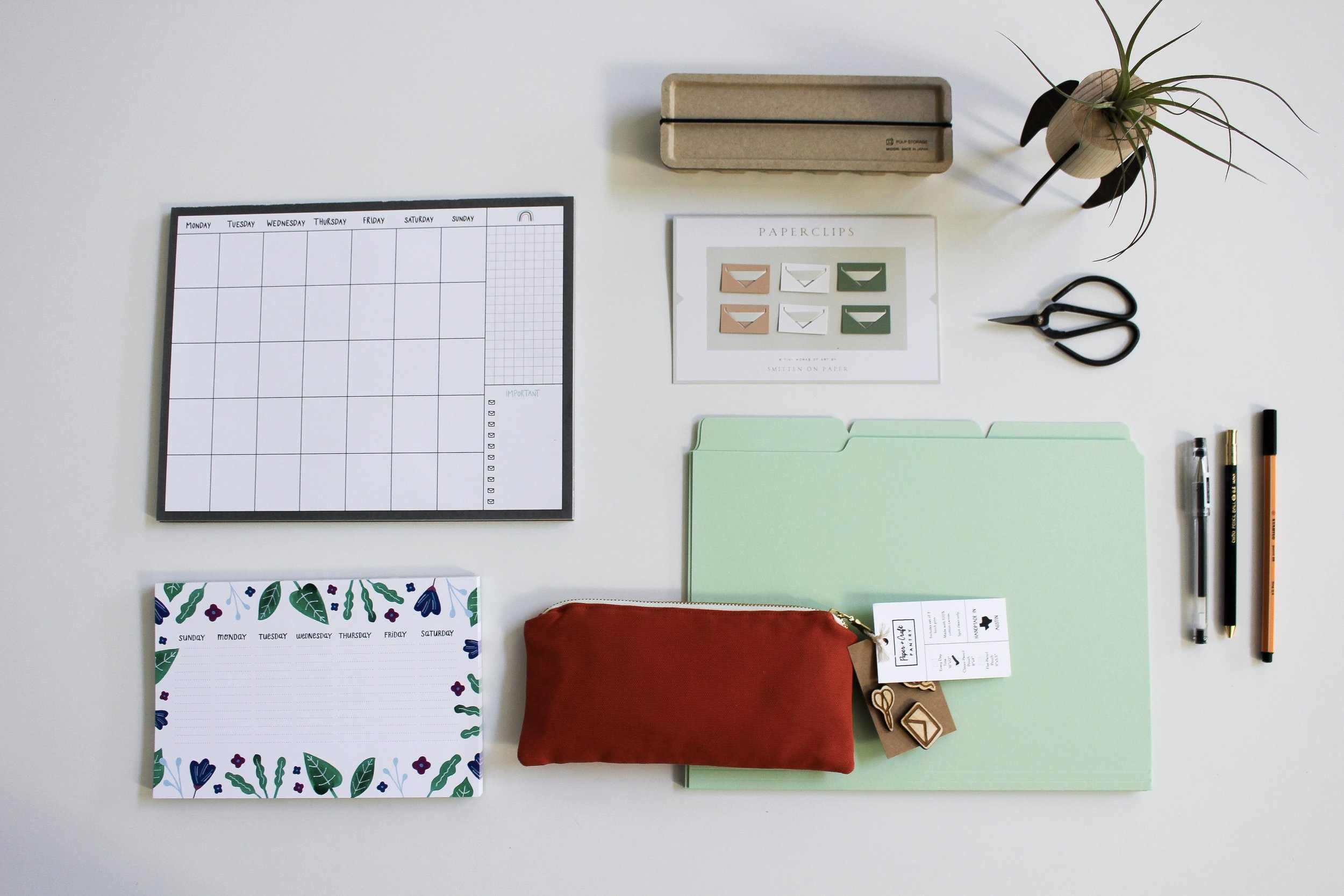 The Paper + Craft Pantry Blog: The best stationery for an intentional year.