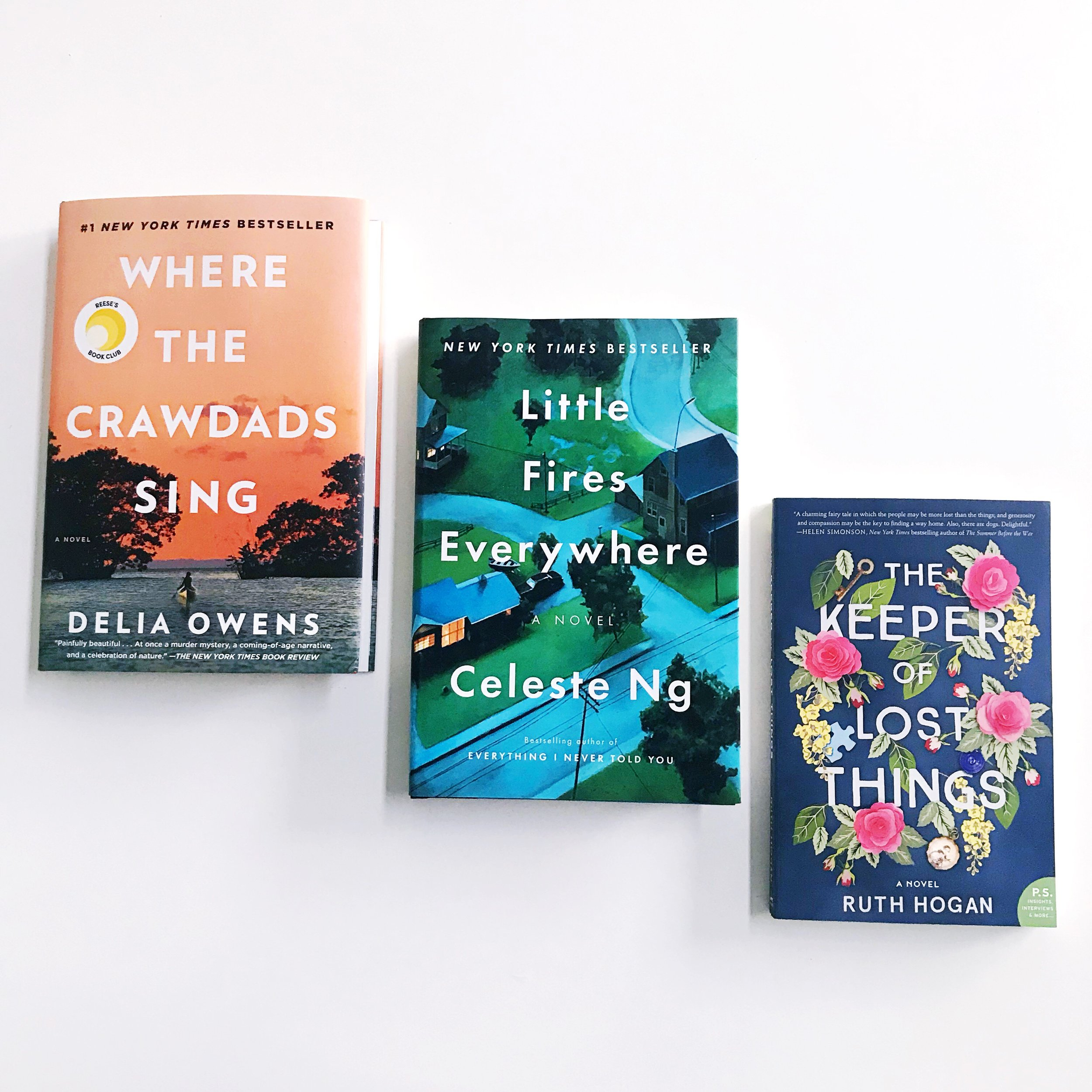 Paper + Craft Pantry 2019 Book Club- January- March book picks!