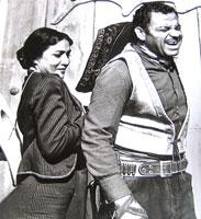 Gunsmoke , with Maria Colon