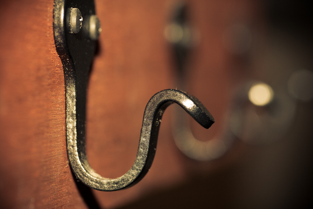 """"""" Hooked """" by  Jason Devaun is licensed under  CC BY-ND 2.0 ."""