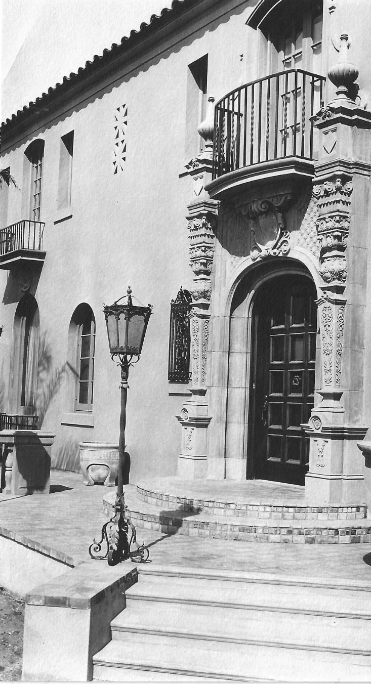Front Door of the Muckenthaler Villa