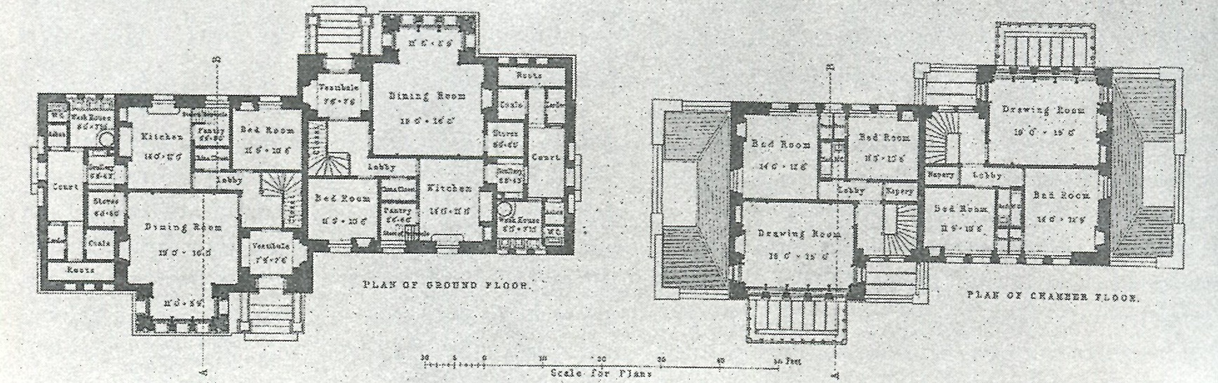 Double Villa designed by the Alexander Thomson