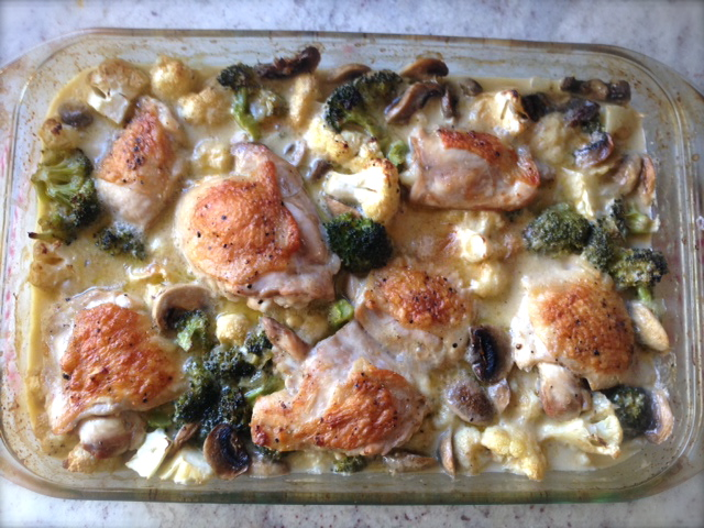It's casserole time! Enjoy this creamy, dairy free meal during the chilly weather months!