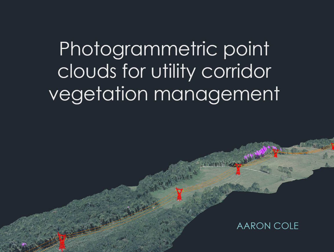 Photogrammetric Point Clouds