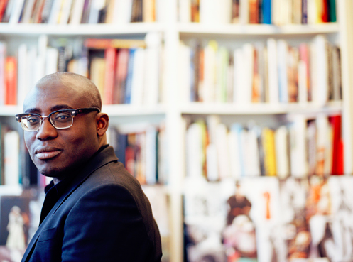 Edward Enninful. [Photo by Kevin Trageser for Business of Fashion, BoF]