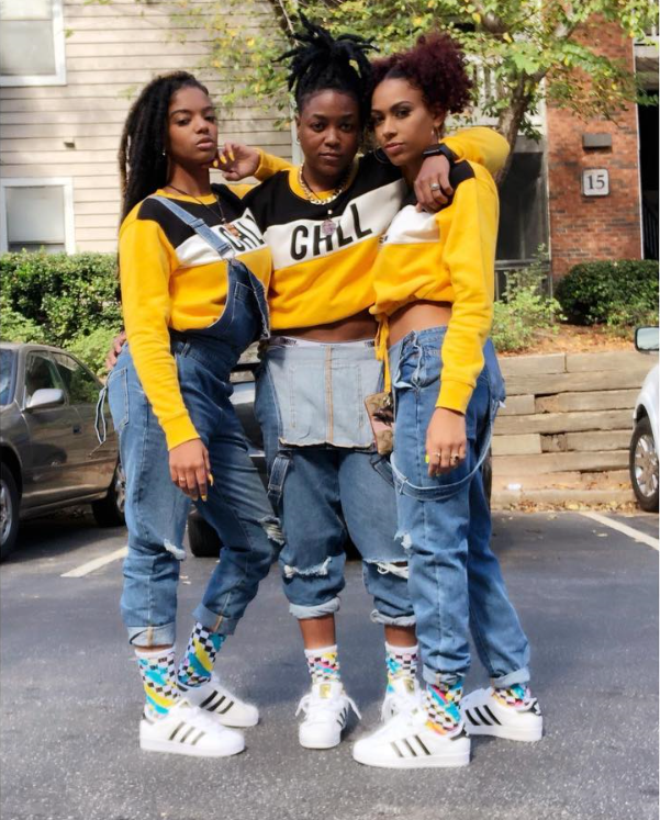 From Left to Right: Zhané, T.Que, & Charisse