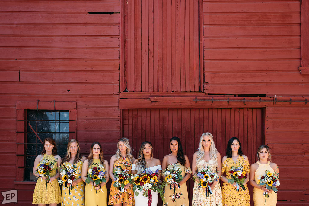 Bridal Party Styling