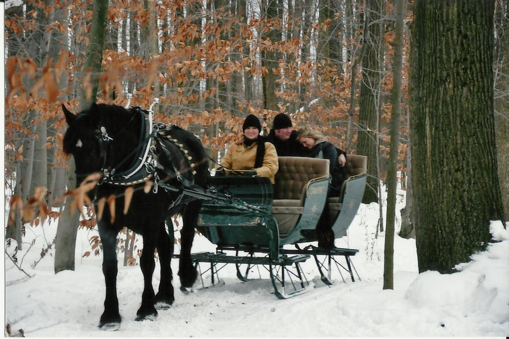Sleigh & Carriage Rides — Ma & Pa's